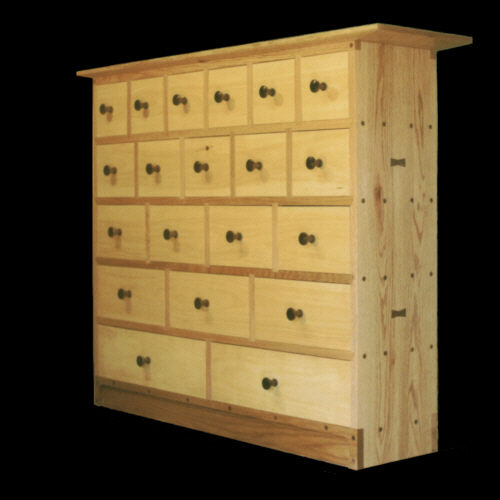 20 Drawer Apothecary Chest